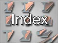 index of steel